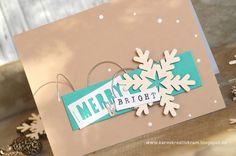 Karos Kreativkram: Merry & bright
