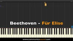 "I have made this piano tutorial for learning the famous piano piece ""Für Elise"" by Ludwig Van Beethoven ! I have made this piano tutorial for learning the famous piano piece Für Elise by Ludwig Van Beethoven ! Piano Sheet Music Letters, Piano Music Notes, Easy Piano Sheet Music, Für Elise Piano, Music Chords, Music Songs, The Piano, Music Lessons, Beginner Piano Lessons"
