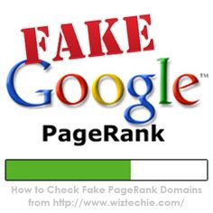 What is a fake pagerank? | How To Do
