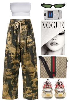 """""""lonely"""" by lalagenue ❤ liked on Polyvore featuring Vivienne Westwood, Balenciaga, Gucci, Motorola and Hermès"""