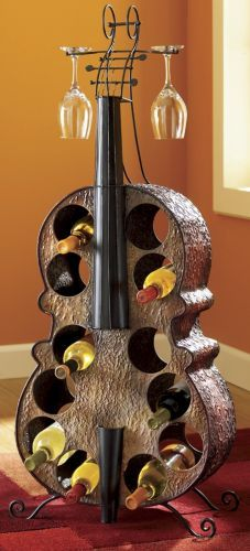 Cello wine rack - for the wine lover!
