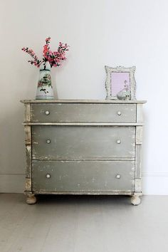 distressed vintage french chest of drawers by out there interiors | notonthehighstreet.com