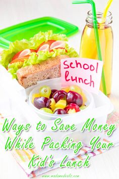 Ten Ways to Save dollars when packing your kid's school lunch http://madamedeals.com/10-ways-to-save-money-while-packing-your-kids-lunch/ #inspireothers #backtoschool