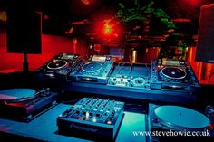 DJ Booth - Club Warehouse by Steve Howie Design, via Flickr