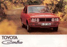 Toyota Carina Deluxe TA14 german brochure
