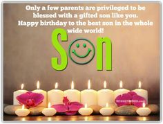 Funny Birthday Memes For Son In Law : Birthday cards for facebook happy birthday son comments images