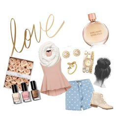 Preppy by motivefashion on Polyvore featuring polyvore fashion style Forever 21 Chanel Links of London Victoria's Secret Bobbi Brown Cosmetics