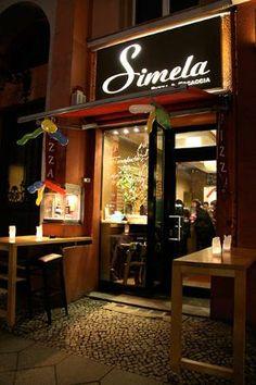 GF pizza in Berlin: Simela