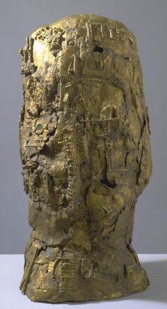 Sir Eduardo Paolozzi 'Cyclops', 1957 © The Eduardo Paolozzi Foundation Sculpture Head, Abstract Sculpture, Bronze Sculpture, Eduardo Paolozzi, James Rosenquist, Claes Oldenburg, Institute Of Contemporary Art, Tate Britain, Jasper Johns