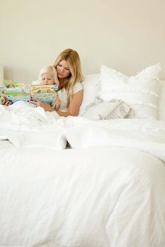 love fluffy ivorywhite bedding for master bed davis just saw this itu0027s you