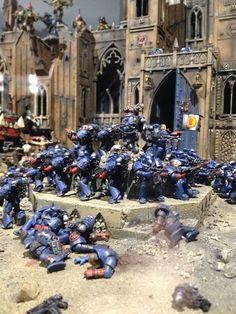 Crimson Fists, Battle of Rynn's World