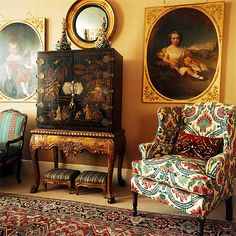 The colors + chinoiserie cabinet | xjavierx - flickr
