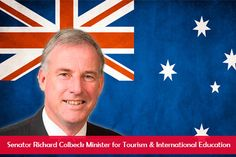 Senator Richard Colbeck Minister for tourism and international education
