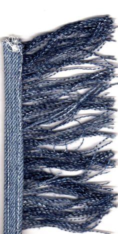 franjes maken van oude jeans
