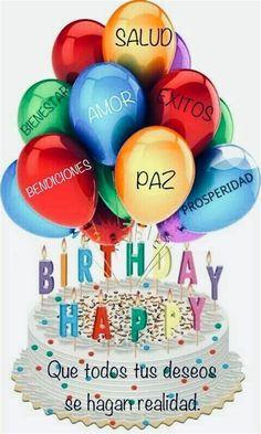Fotos En Cumpleaños Happy Birthday Fireworks, Happy Birthday Cards, Birthday Wishes Greetings, Mary Kay, Easter Eggs, Christmas Crafts, Birthdays, Party, Gifts
