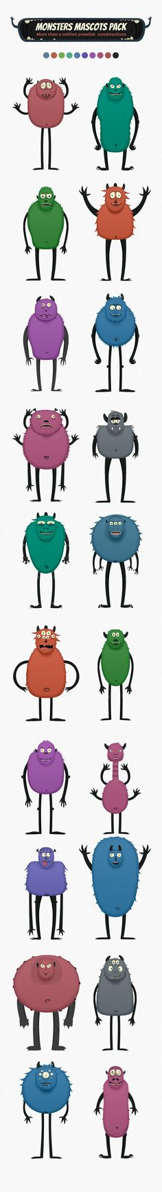 Monsters Characters #monster #character