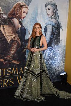 Jessica Chastain At The Huntsman: Winter's War Premiere