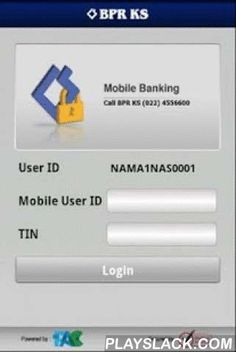 BPRKS Mobile  Android App - playslack.com ,  BPRKS Mobile is Android Mobile Banking Application for BPR Karyajatnika Sadaya's customers. BPRKS Customer must register from ATM, EDC or Internet Banking to be able to use the service.BPRKS Mobile provides transactional and non transactional services for customer, such as portfolio informations, fund transfer, product purchasing, bill's payment, ATM and branch location information, etc.