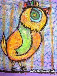My Blog... Birds in the style of Matt Sesow