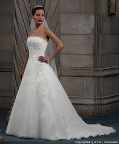 (Bridal Originals) A-line Wedding Dress GO4GO