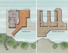 Muskoka Contemporary Boathouse 13
