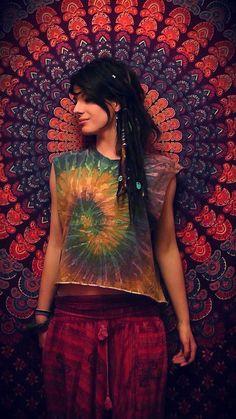 roupa hippie
