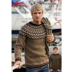 "Image search result for ""stickade .- Результат пошуку зображень за запитом ""stickade… Image search results for ""stickade herrtröjor mönster fair isle"" - Love Knitting, Knitting Books, Knitting Kits, Knitting Patterns Free, Icelandic Sweaters, Wool Sweaters, Brown Sweater, Men Sweater, Knitting Supplies"