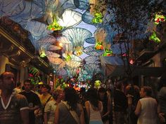 August events in Barcelona, Festa Mayor Gracia August Events, Barcelona Catalonia, Community Events, Art For Art Sake, Show, Trip Planning, Traveling By Yourself, The Good Place, The Neighbourhood