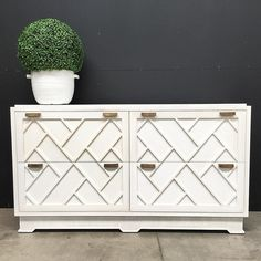 Obsessed  Totally obsessed with Canalside Interiors' new Ellery Sideboard. With a nod to Chinoiserie the handcrafted details on this range is amazing! There's a ribbing effect around the top and base that's to die for!! In Stock Now in distressed white and black.  Available for viewing on our website or in our Alexandria showroom:  OPEN 7 DAYS | 38 Burrows Rd Alexandria  www.canalside.com.au  #furniture #canalsideint #canalsideinteriors #Sydney #Alexandria @canalsideint