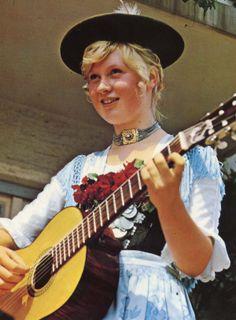 Gruesse aus Bayern (Greetings from Bavaria); Prien am Chiemsee.  (Postcard purchased in Germany, 1976.)