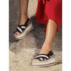 0151cbae6a02 Glenna Platform Sandal. marcfisherfootwear.com. It s time to plan an  espadrille escape  Shoe  Glenna   MarcFisherLTD  styleMARC  MarcFisher ...