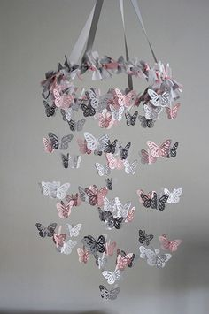 You will be surprised to find out just how easy this Butterfly Mobile Diy Chandelier is to make and we have an easy video tutorial to show you how.