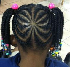 braided natural black hairstyles | Check out Braids by lil bit | Black Women Natural Hairstyles