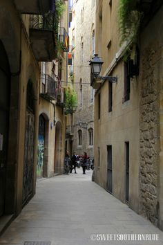 Gothic Quarters ~ Barcelona, Spain
