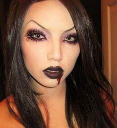 halloween makeup look. #Halloween #costume