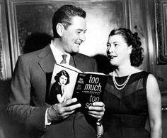 Errol Flynn and Diana Barrymore (daughter of John Barrymore).