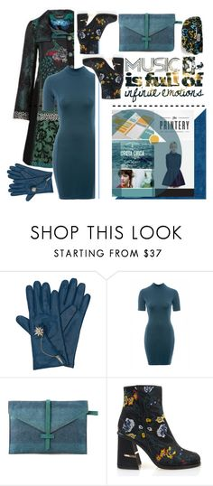 """Winter Blues"" by emcf3548 ❤ liked on Polyvore featuring Henri Bendel, AX Paris, TIBI and Gucci"