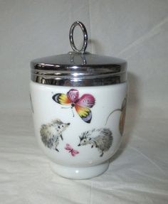 King Size Double Egg Coddler Amp Lid By Royal Worcester In A