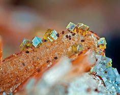 Bariopharmacosiderite, Baryte