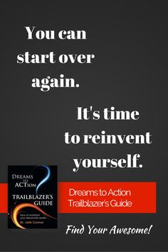 Find everything you need to make a fresh start. DREAMS TO ACTION TRAILBLAZER'S GUIDE on Amazon, http://www.amazon.com/Dreams-Action-Trailblazers-Guide-Connor/dp/0991487206