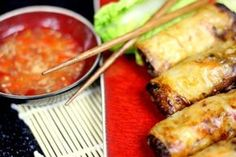 Przepis na popularne sajgonki, tym razem w wersji wegetariańskiej