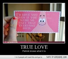 Patrick knows.