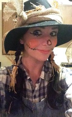 Girly/Cute scarecrow costume | Halloween | Pinterest | Scarecrows ...