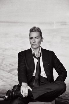 Kate Winslet by Peter Lindbergh.