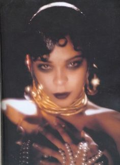 T-Boz (of TLC) as Josephine Baker for Kevyn Aucoin's 1999 Changing Faces