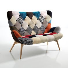 Divanetto patchwork Kaleidos-D