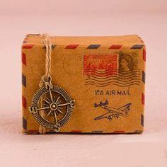 Cajitas Air Mail Vintage (pack de 10 uds.)