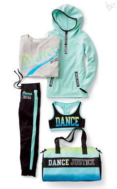 Justice Dance helps you stay on point and ready for the new routine with coordinated gear that's ready for the stage!