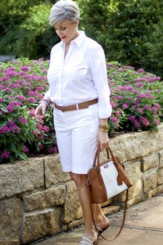 Summer neutrals mature women fashion, womens fashion, girl with curves, whi Over 60 Fashion, Over 50 Womens Fashion, 50 Fashion, Women's Fashion Dresses, Fashion Ideas, Fashion Stores, Cheap Fashion, Fashion Fall, Affordable Fashion