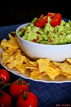 "Nesmí chybět na žádné párty "" Food Styling, Guacamole, Dips, Tacos, Food And Drink, Mexican, Menu, Cooking, Ethnic Recipes"
